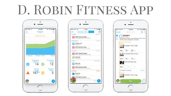 D. Robin Fitness App